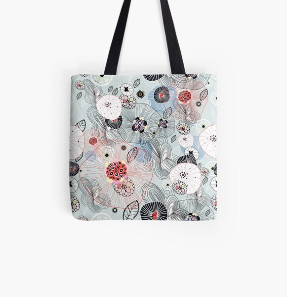abstract pattern All Over Print Tote Bag