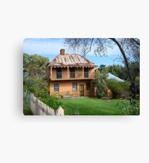 Country Homestead Canvas Print
