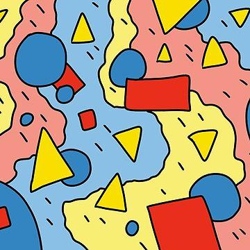 80's Abstract Pattern by dukeofgarbanzo