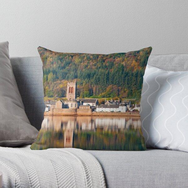 Inveraray, Scotland Throw Pillow