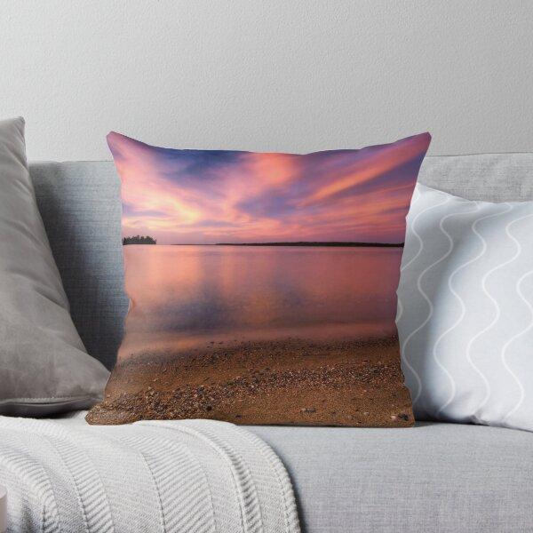 Serenity II, Leech Lake Throw Pillow