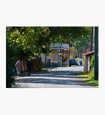 Streets of Sofala Photographic Print