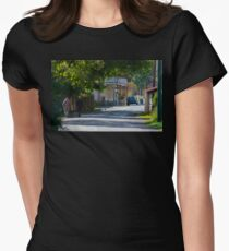 Streets of Sofala Women's Fitted T-Shirt