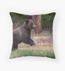 Time to clear out! Throw Pillow