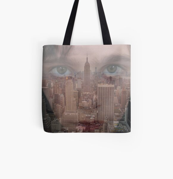 The city's on my mind All Over Print Tote Bag