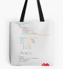 // the wedding code Tote Bag