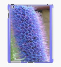 Blue Flower Spike iPad Case/Skin