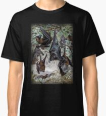 Indian Flying-fox painting  Classic T-Shirt