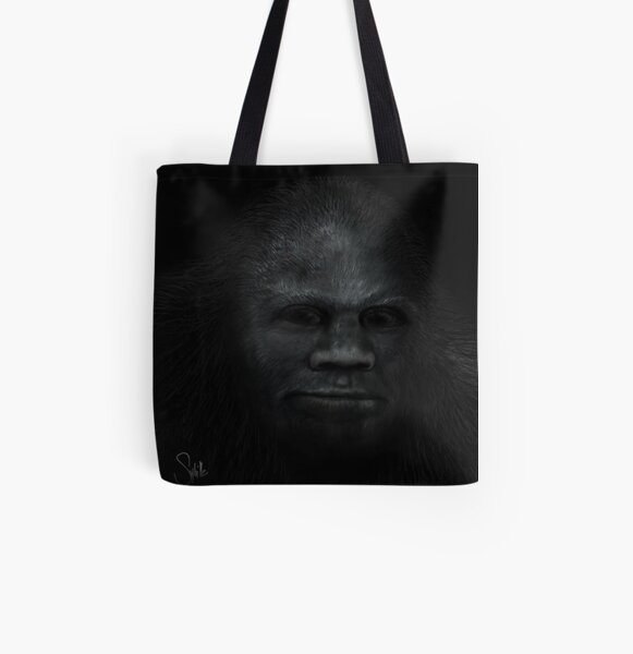 Juvenile's Face All Over Print Tote Bag