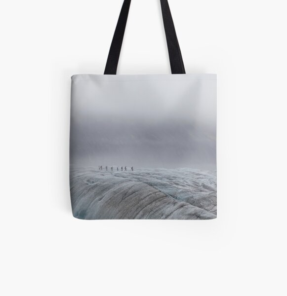 Iceland All Over Print Tote Bag