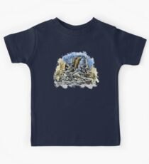 Prague angels sculpture Kids Tee