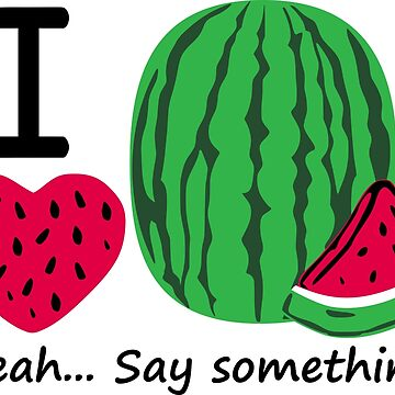 I Heart Watermelon Third Culture Series by carbonfibreme