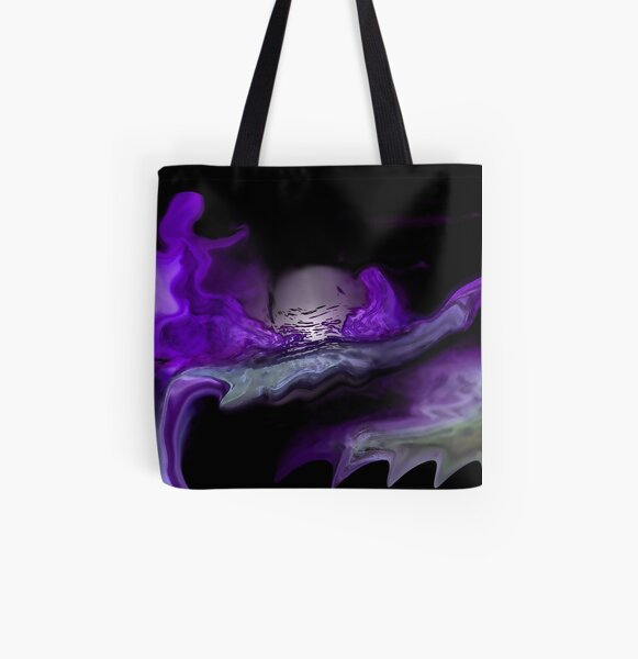 GYPSY DANCER AND THE MOON All Over Print Tote Bag