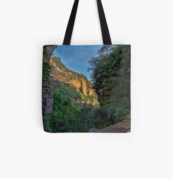 Valley of the Waters View All Over Print Tote Bag