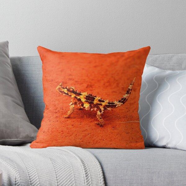 Thorny Devil (Moloch horridus) Throw Pillow