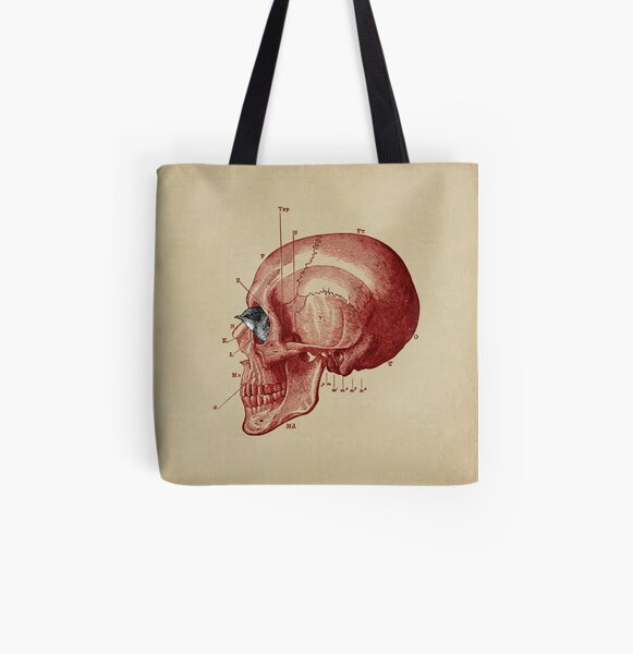 CANTO DE GOLONDRINAS COMO METAL CRUDO (vr.5) All Over Print Tote Bag