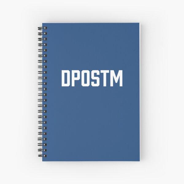 DPOSTM Logo Spiral Notebook
