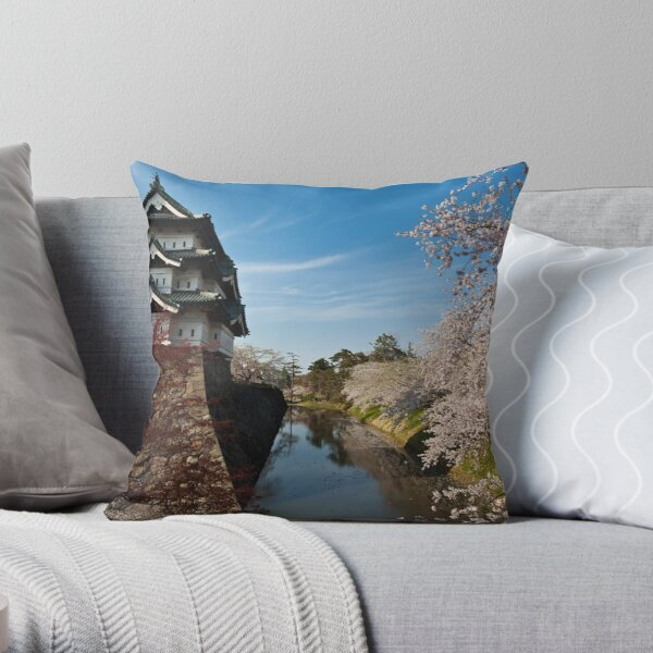 Separation of Beauty Throw Pillow