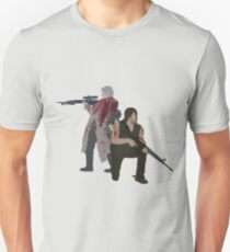 Carol Peletier and Daryl Dixon (Version 1) - The Walking Dead  T-Shirt