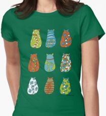 Some cats Womens Fitted T-Shirt