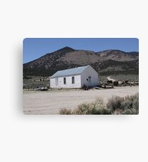Museum - One Room Schoolhouse Canvas Print