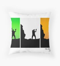 The Real Gathering 2013 - West Clare Throw Pillow