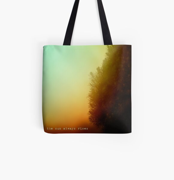 the sun always rises All Over Print Tote Bag