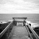Cape Schanck: Footpath closed by Roberts Birze