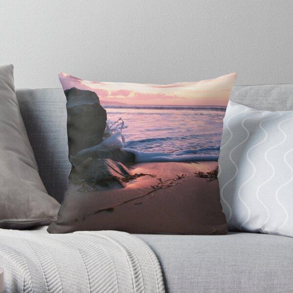 Sunrise in Apollo Bay Throw Pillow