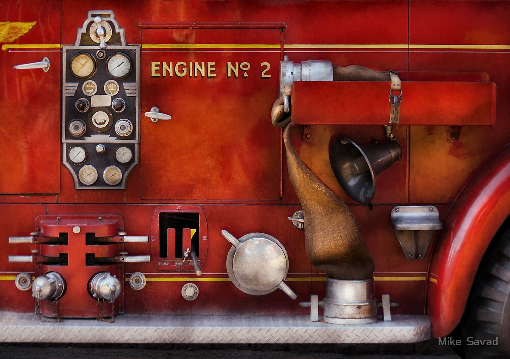 Fireman - Old Fashioned Controls by Mike  Savad