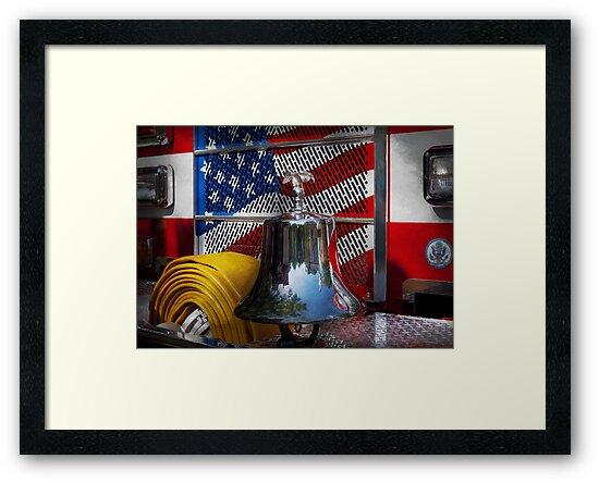 Fireman - Red Hot  by Michael Savad