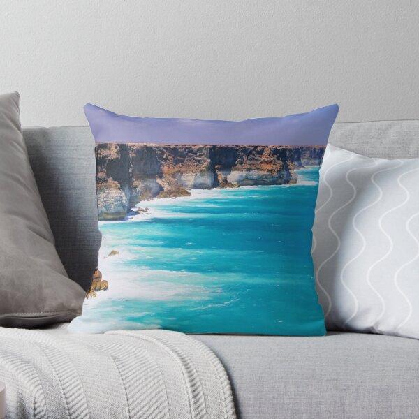 Australian Bight Throw Pillow