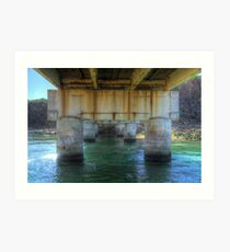 The Bridge, Cutagee Art Print