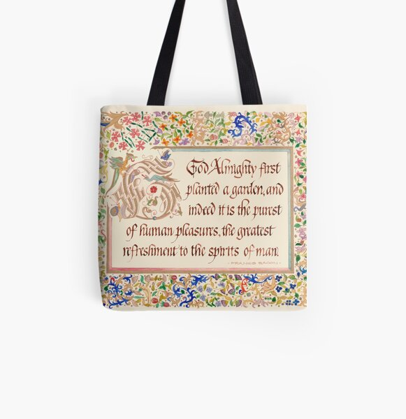 For Gardeners All Over Print Tote Bag