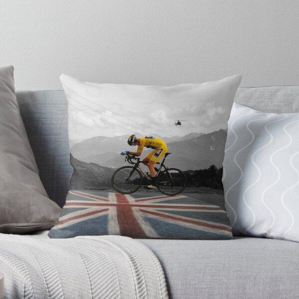 Chris Froome - Tour de France Champion Throw Pillow