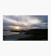 Sanna Bay   Ardnamurchan Point Photographic Print