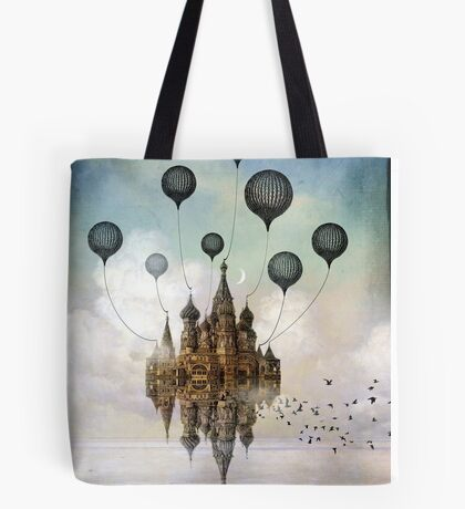 Journey to the East Tote Bag