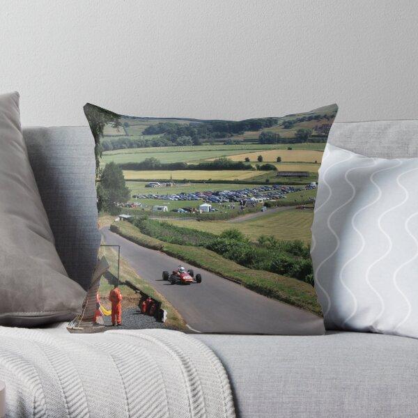 Shelsley Walsh Hill Climb Throw Pillow