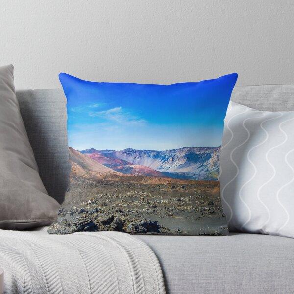 Haleakala #8 Throw Pillow