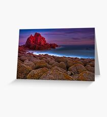Dusk at The Pinnacles #1 Greeting Card