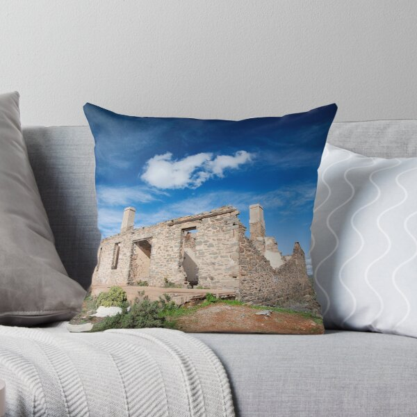 Waukaringa Ruins  Throw Pillow