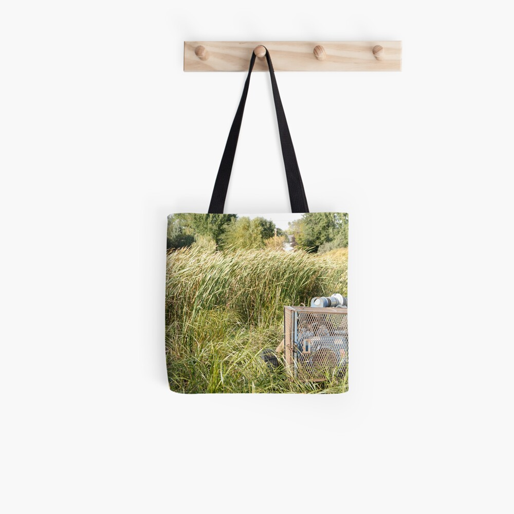 Sump Pump In The Reeds Tote Bag