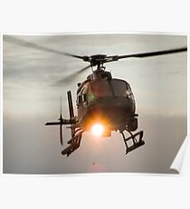 ABC Helicopter Poster