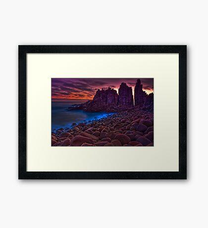 Dusk at The Pinnacles #2 Framed Print
