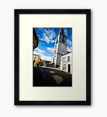 Under The Goldie Fish Framed Print