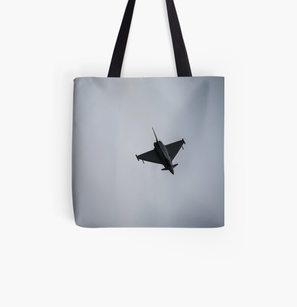 The Eurofighter Typhoon at Eastbourne Airbourne show All Over Print Tote Bag