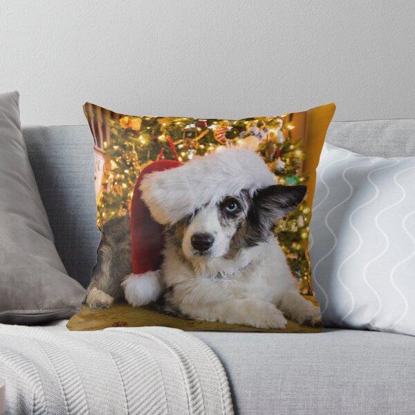 Merry  Maggie Cardigan Christmas Throw Pillow