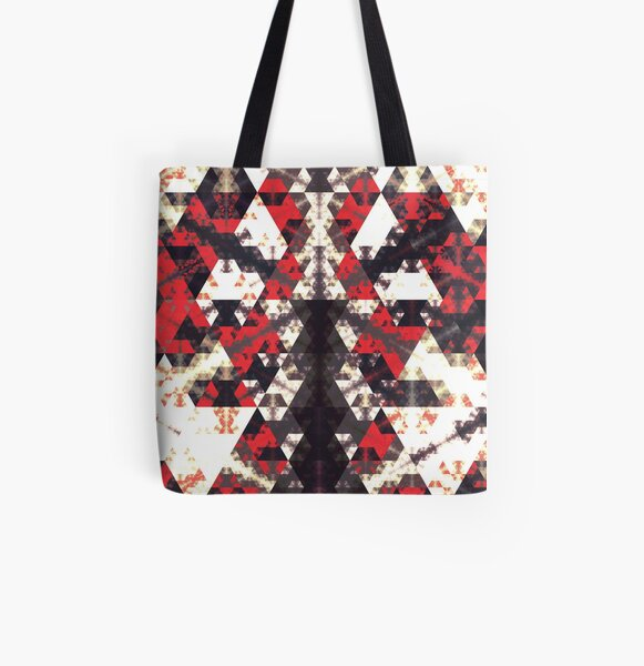 Peace Walker All Over Print Tote Bag
