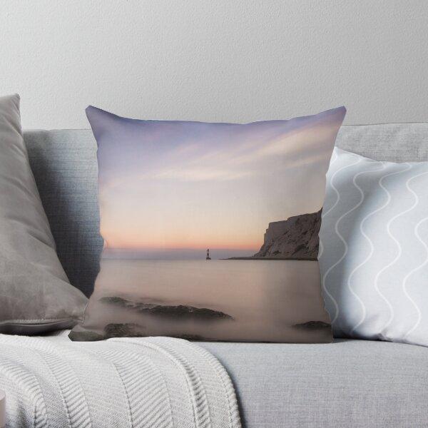 Beachy head sunset, 300 second exposure Throw Pillow