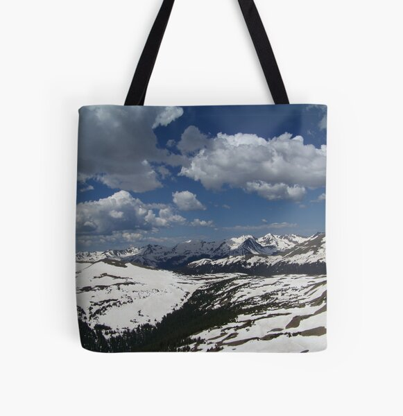 Rocky Mountain High All Over Print Tote Bag